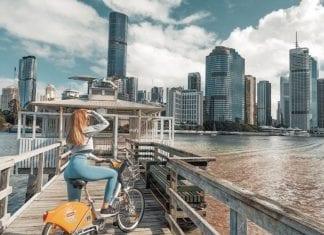 Brisbane city explore bike