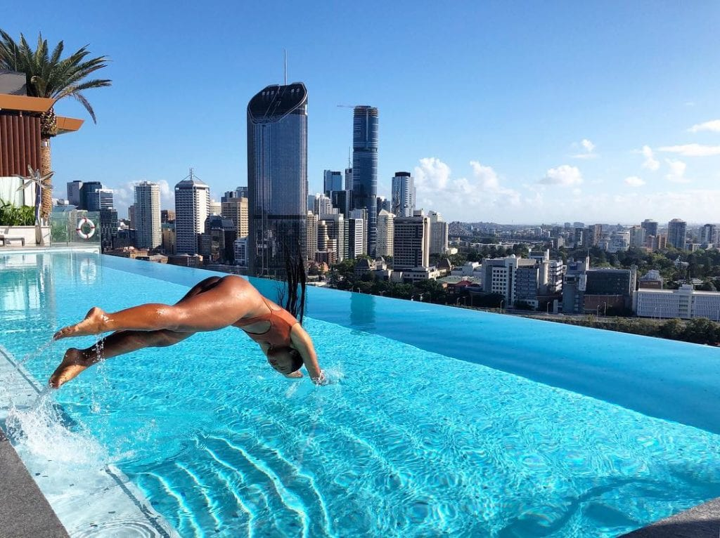 MyBrisbane Emporium hotel South Bank Pool view hunni_chai