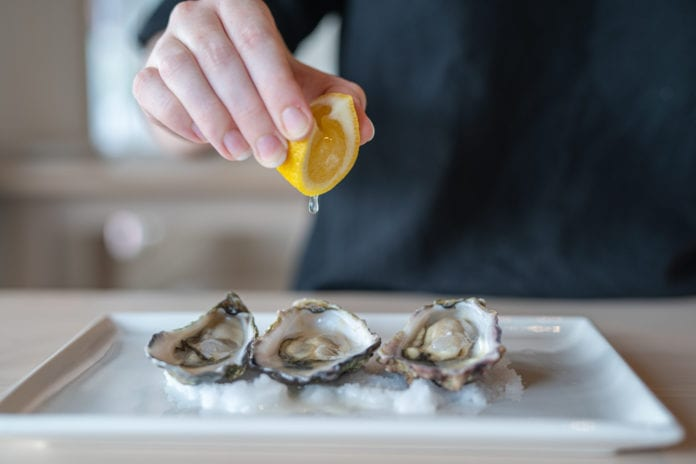 Oyster Frenzy at One Fish Two Fish Kangaroo Point Brisbane