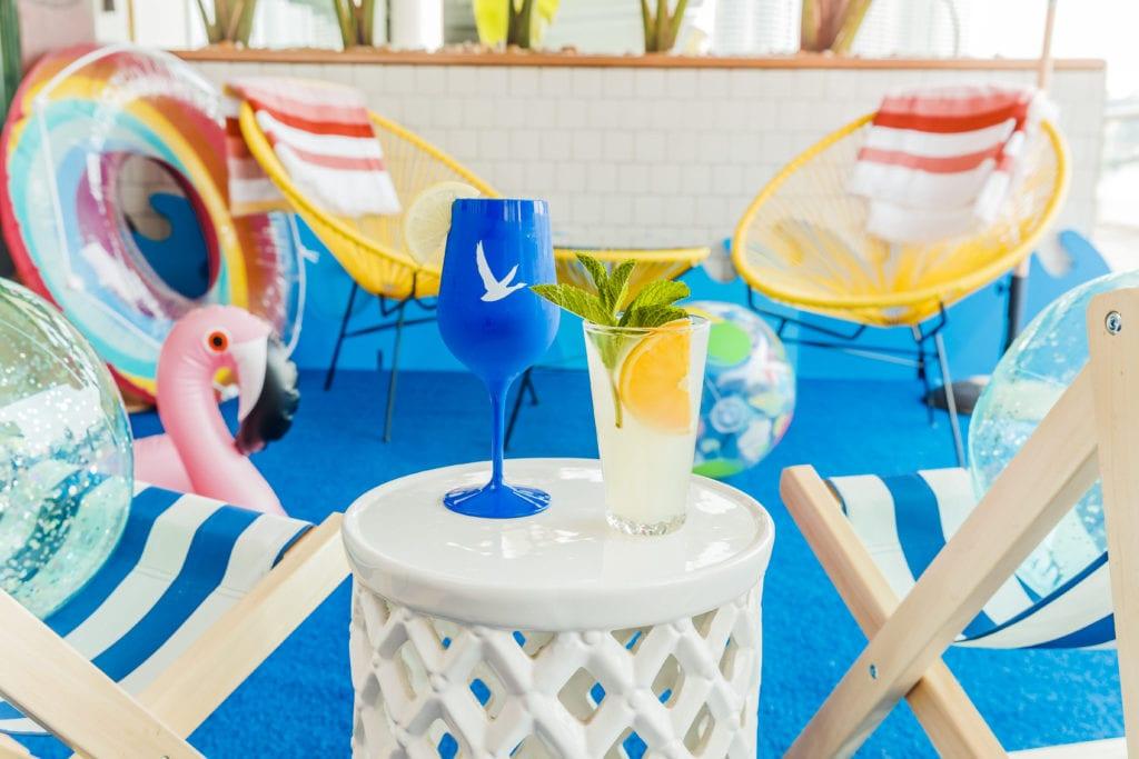 Pool Bar at Riverbar and Kitchen