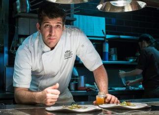 Massimo Speroni Bacchus Restaurant chef by Dan Fidler