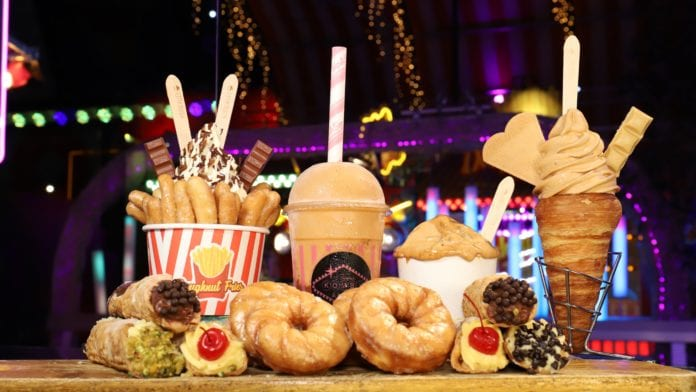 Eat Street dessert spread