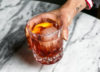Negroni cocktail brisbane