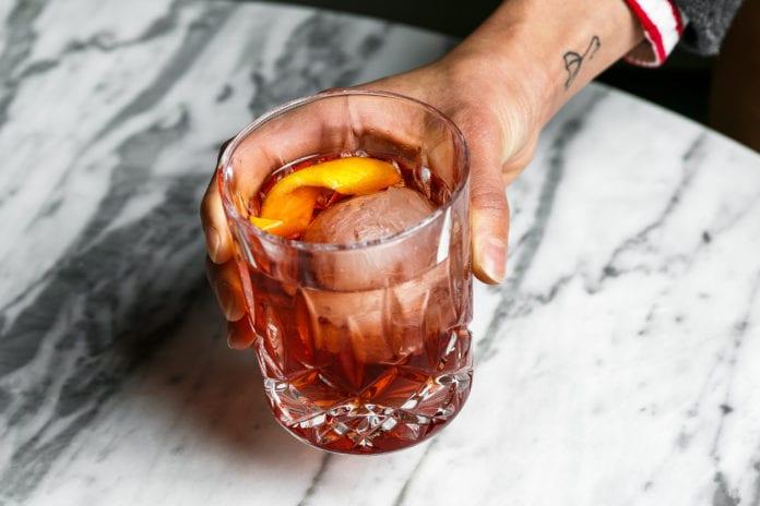 Negroni cocktail brisbane