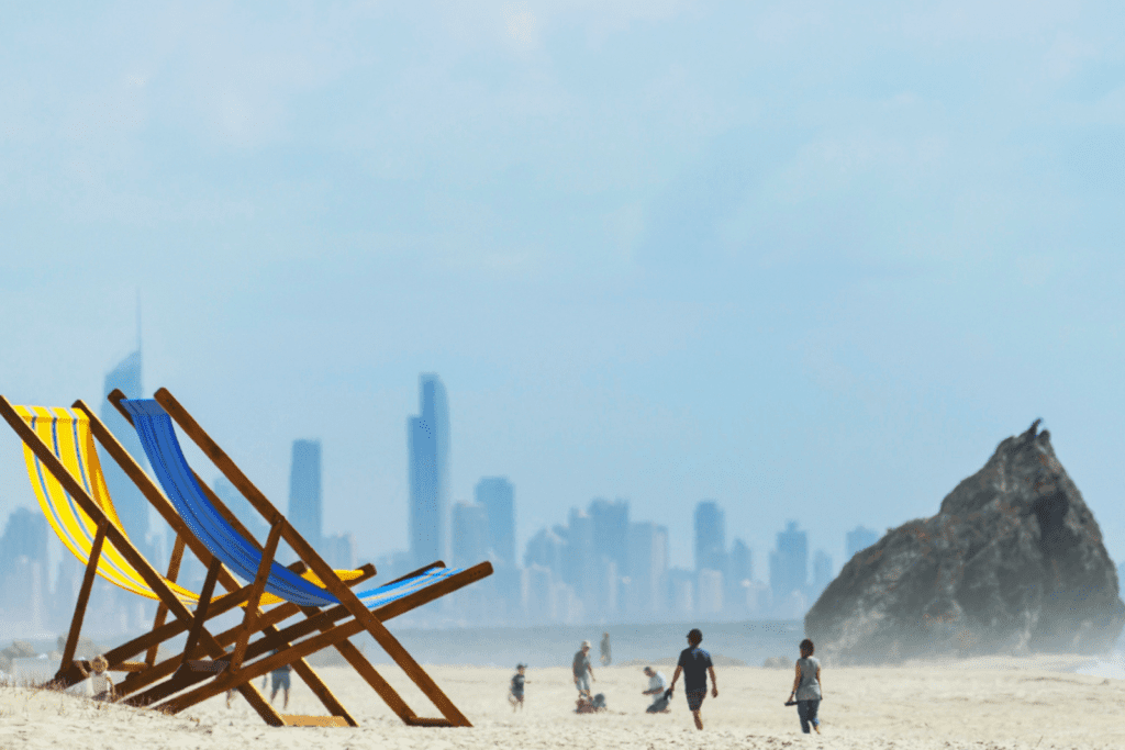 Beach Sculpture Giant Chair