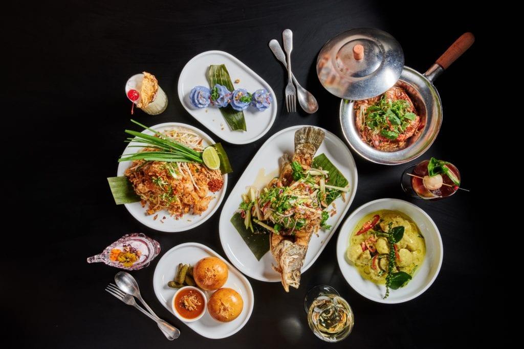 Naga Thai Food Spread