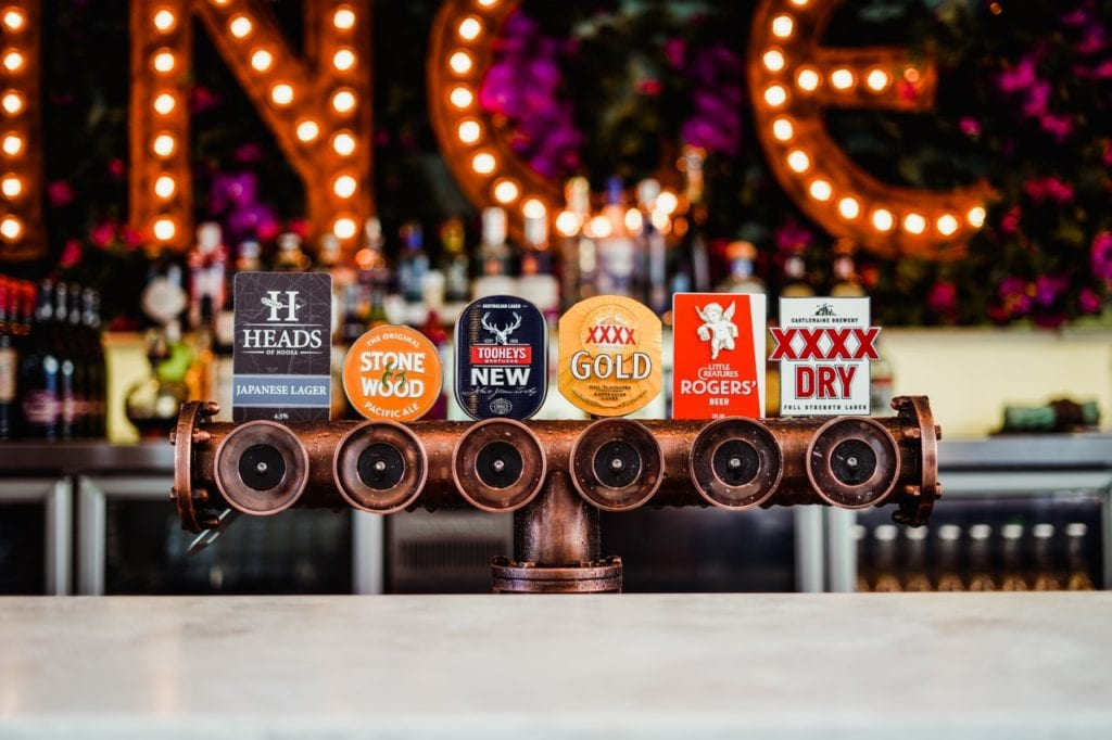 The Prince Consort Hotel Beer Taps
