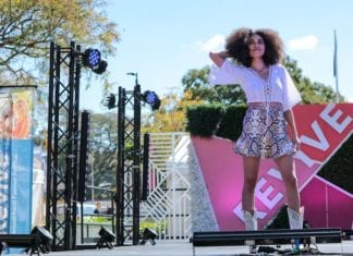 revive second hand fashion festival catwalk