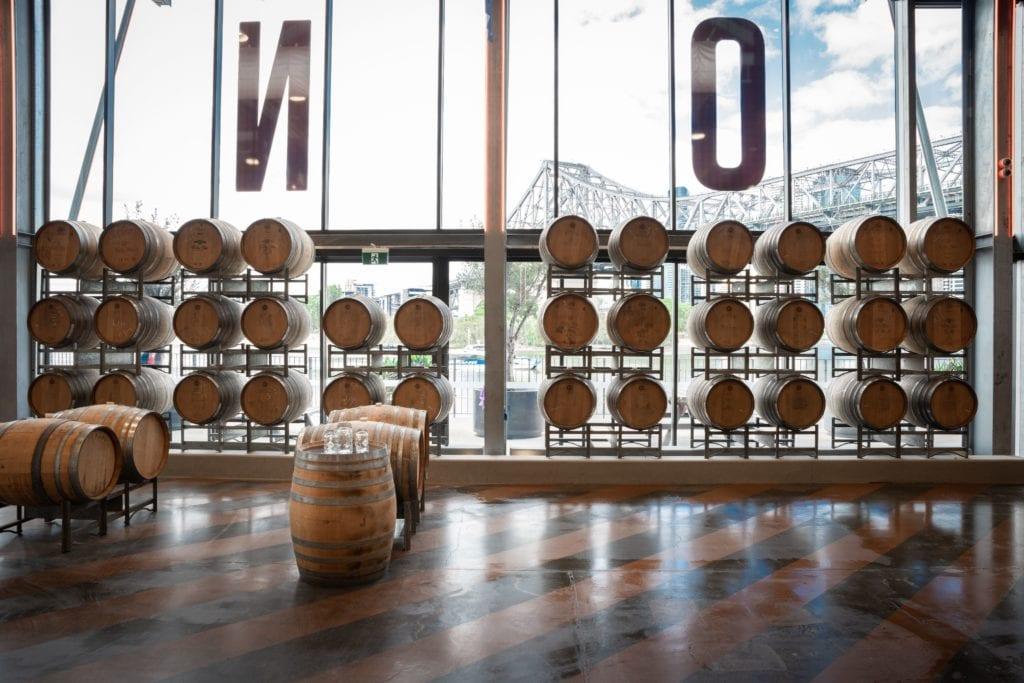 ex-wine oak barrels