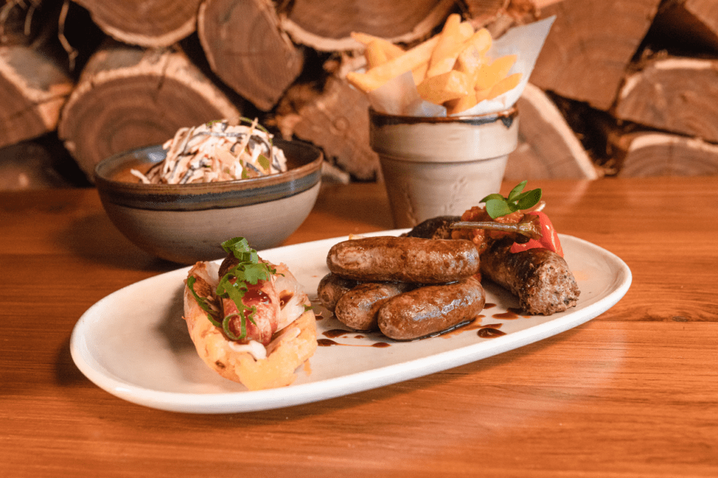 sausage sample plate 3