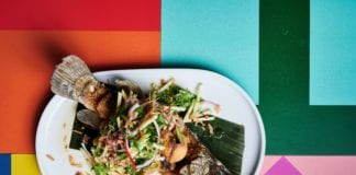 Naga Thai Wok Fried Barramundi