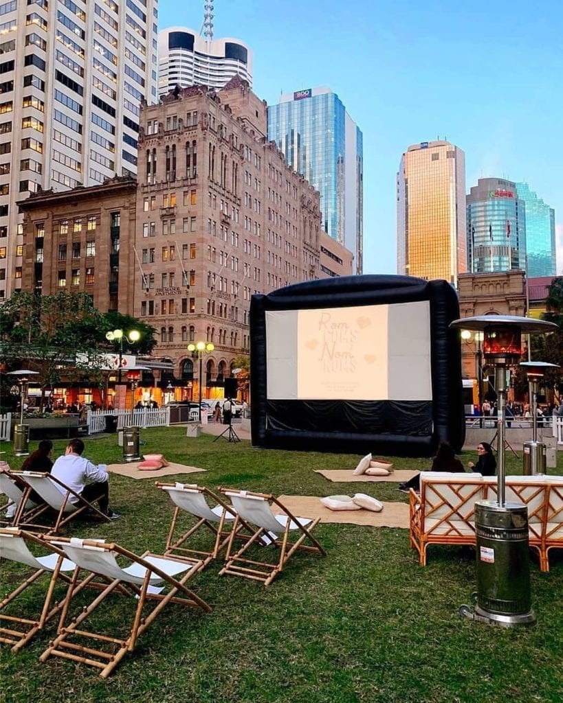 rom coms & nom noms in post office square