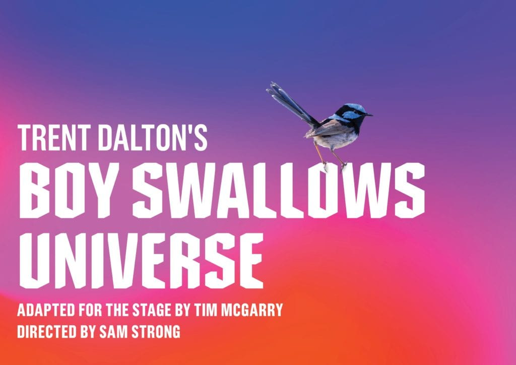 Queensland Theatre 2021 Boy Swallows Universe Banner