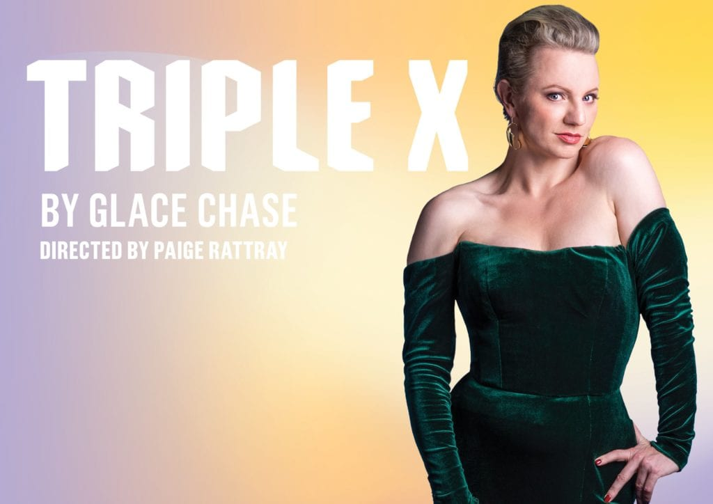 Queensland Theatre 2021 Triple X Banner