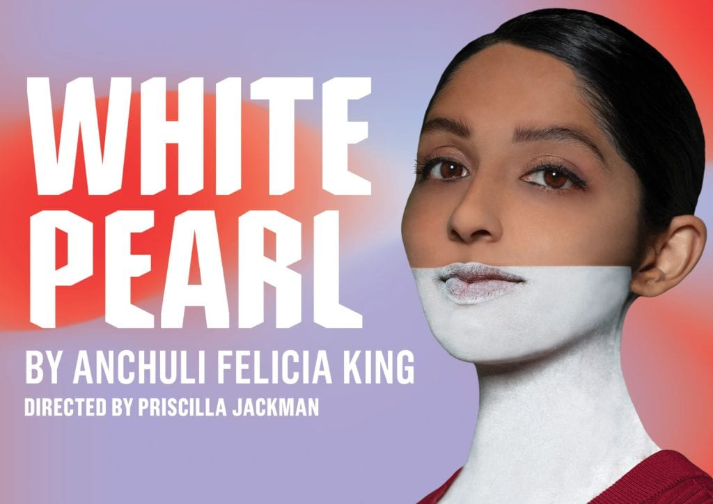 Queensland Theatre 2021 White Pearl Banner