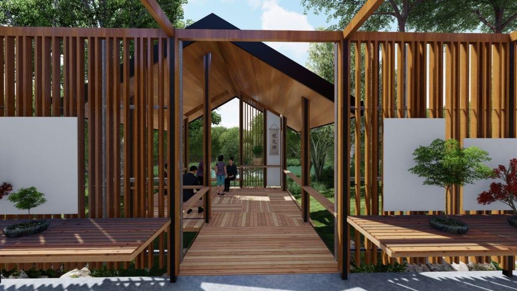 brisbane bonsai house architecture
