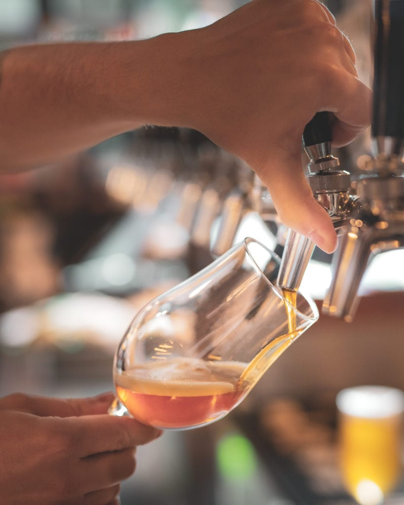 tipplers_tap_fortitude_valley_beer_pour
