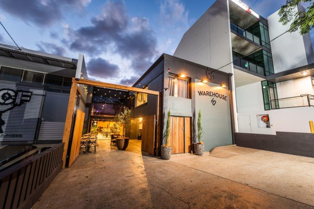 warehouse 25 exterior milton