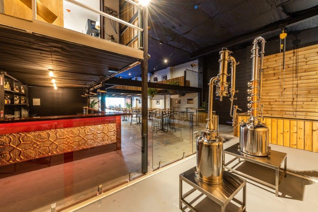 Warehouse 25 distillary vats