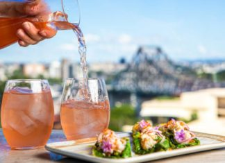 Iris rooftop bar brisbane